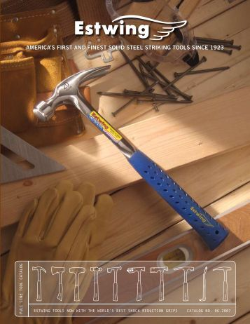 Bricklayer or Mason's Patented grip and End Cap - estwing.cz