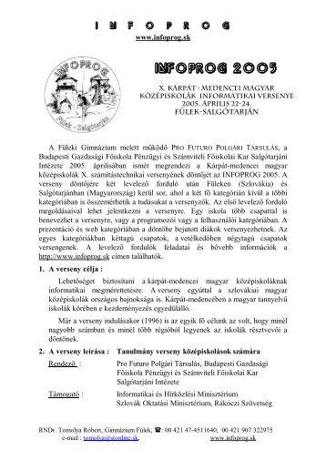Infoprog 2005