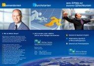 Flyer Business-Sprachkurse