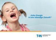 Imagebroschüre der Teutoburger Energie Netzwerk eG