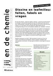 Dioxine en leefmilieu: feiten, fabels en vragen - PVC Info