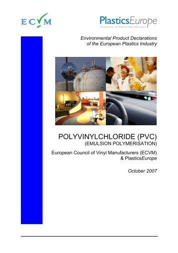 EPD E-PVC Final Draft 2007-10-26 - PVC Info