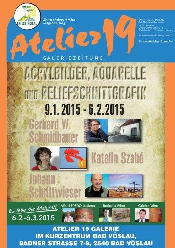 Atelier19 Galeriezeitung