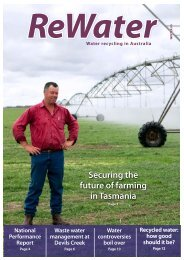 Winter 2009 - Recycled Water