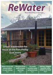 Winter 2010 - Recycled Water