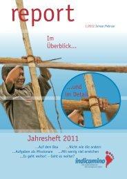 Indicamino-Report 2012-I - Urs & Claudia