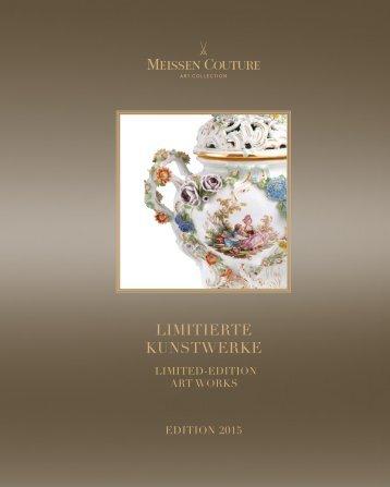 MEISSEN COUTURE - Limitierte Kunstwerke 2015