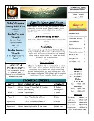 Volume 5, Issue 33-August 12 . 2012.pub - Burlington Church of Christ