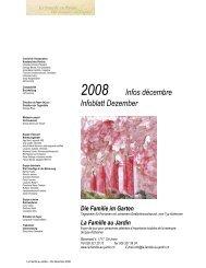 2008 Infos décembre Infoblatt Dezember - La famille au jardin