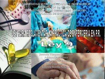 Ley # 9 - Universidad Interamericana de Puerto Rico