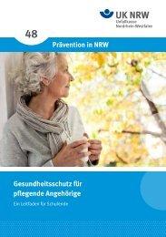 Prävention in NRW Gesundheitsschutz für ... - Neuheit für Pflege