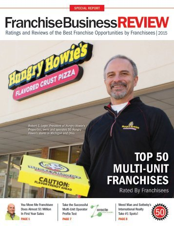 Top 50 Multi-Unit Franchises 2015