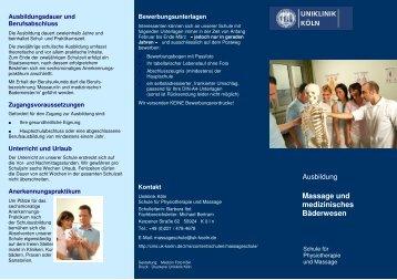 Flyer Mass blau 3 - Uniklinik Köln