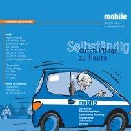 Informationsbroschüre - mobile Häusliche Kranken- und Altenpflege ...