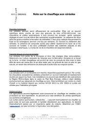 Note de synthèse et liste chaudières grain - Espace INFO ...