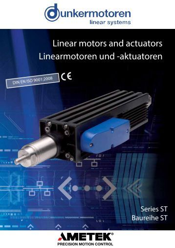 Pm et01 for Linear actuator stepper motor driven