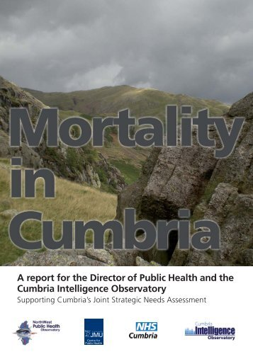 Mortality in Cumbria - North West Public Health Observatory