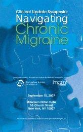 Migraine Migraine - National Headache Foundation