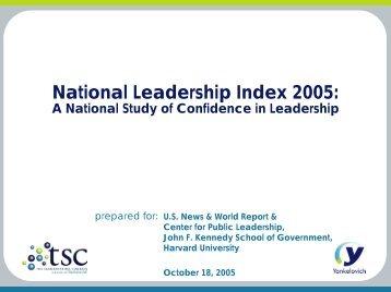 National Leadership Index 2005:
