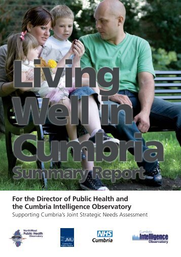 Living Well in Cumbria - North West Public Health Observatory