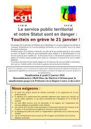 19cfdd93646 le statut general de la fonction public territoriale - Comprendre pour .