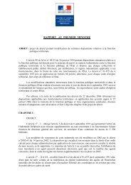 RAPPORT AU 1er MINISTRE - CGT Services publics