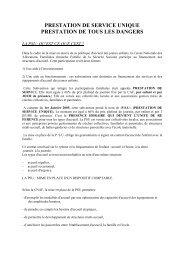 PRESTATION DE SERVICE UNIQUE - CGT Services publics