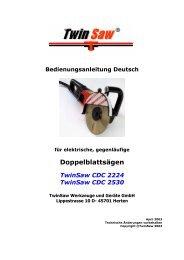 Bedienungsanleitung Deutsch für elektrische, gegenläufige ...