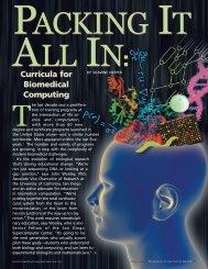 Curricula for Biomedical Computing BY SHAWNE NEEPER