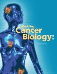 Modeling Cancer Biology - Biomedical Computation Review