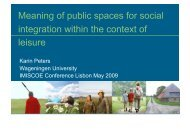 Interethnic Interactions in Urban Public Spaces - IMISCOE Cross ...