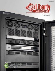 Installers Choice Rack Catalog - Liberty AV Solutions