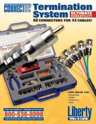 termination sYstem - Liberty AV Solutions