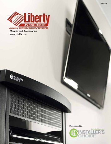 Installers Choice Mount Catalog - Liberty AV Solutions