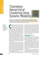 Chameleon: Hierarchical Clustering Using Dynamic Modeling