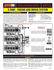AP112 - Paso Sound Products