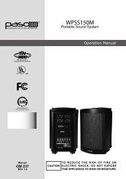 Operation Manual - Thorvin Electronics