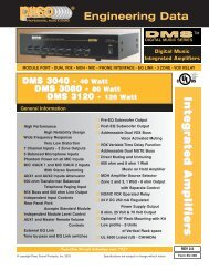 ED285 DMS3040-3080-3.. - Paso Sound Products