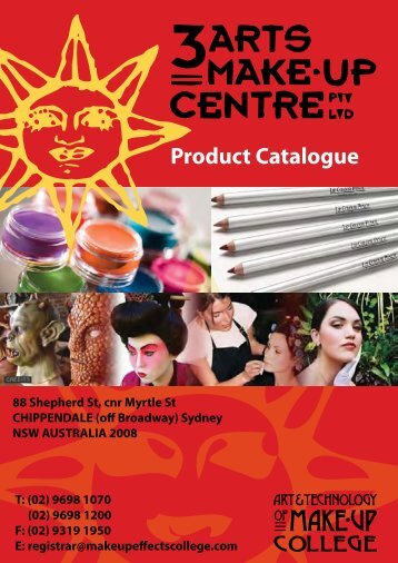ben nye products - the art and technology of makeup college