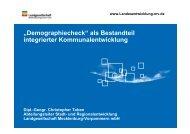 """Demographiecheck"" als Bestandteil integrierter ..."