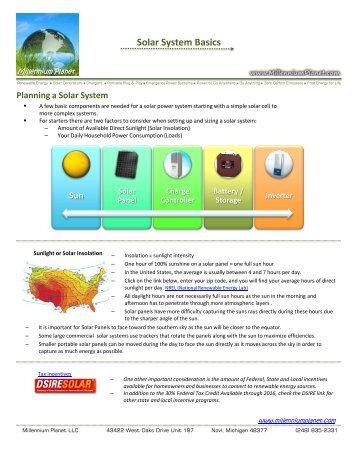 Solar System Basics - Millenniumplanet