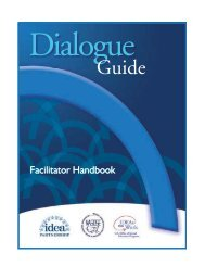 the Facilitator Handbook - IDEA - U.S. Department of Education