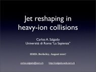 Jet reshaping in heavy-ion collisions - RNC