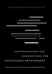 Policy Summary - Swedish Entrepreneurship Forum