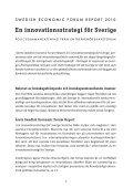 Swedish Economic Forum Report 2010 - Entreprenörskapsforum - Page 2