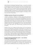 Swedish Economic Forum Report 2010 - Entreprenörskapsforum - Page 5