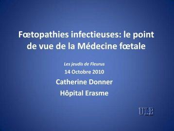 Dr C Donner - Les Jeudis de Fleurus
