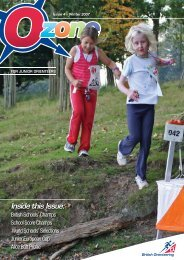 Inside this Issue: - British Orienteering