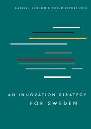 An innovation strategy for Sweden