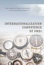 Internationalization competence of SMEs - Entreprenörskapsforum
